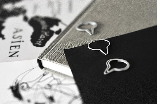 Gem pratbubblor papperspyssel inredningsblogg trend kontorsmaterial snygga gem