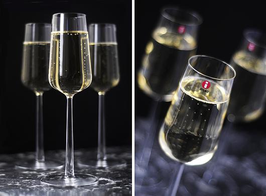 Klassiska champagneglas Iittala