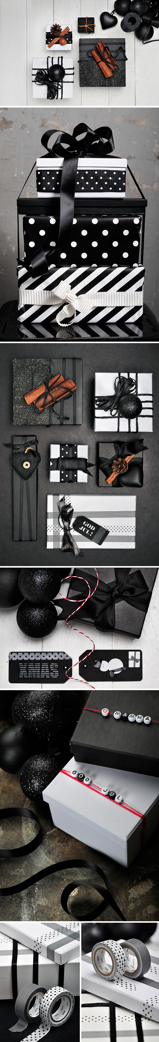 Julpyssel tips svartvit grafisk jul trend 2011 amelia jul trendenser tips på julpynt.jpg
