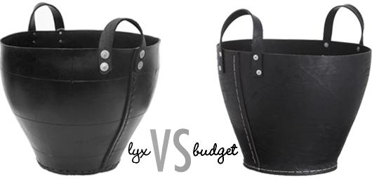 Lyx vs. budget: gummikorgar av bildäck Trendenser