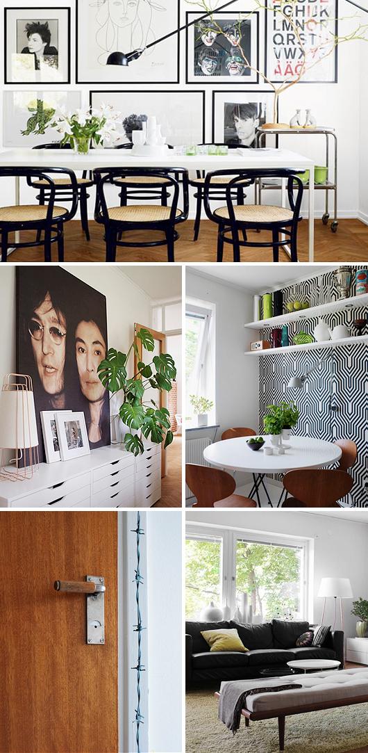 Retro Family Living hus drömvilla inredningsinspiration