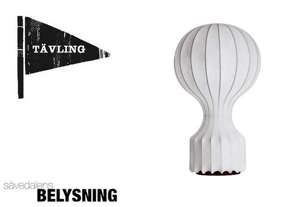 Annons: Tävla och vinn presentkort på Sävedalens Belysning