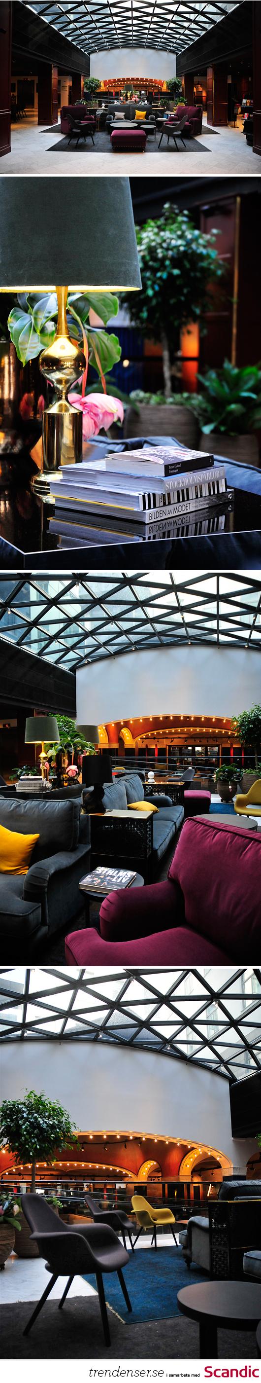 Scandic Grand Central nytt hotell stockholm designhotell pressvisning