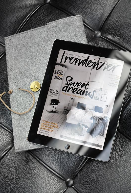 Trendenser Ipad magazine