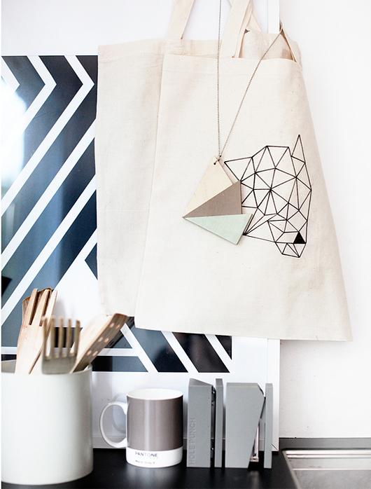 Trianglar trend inredning
