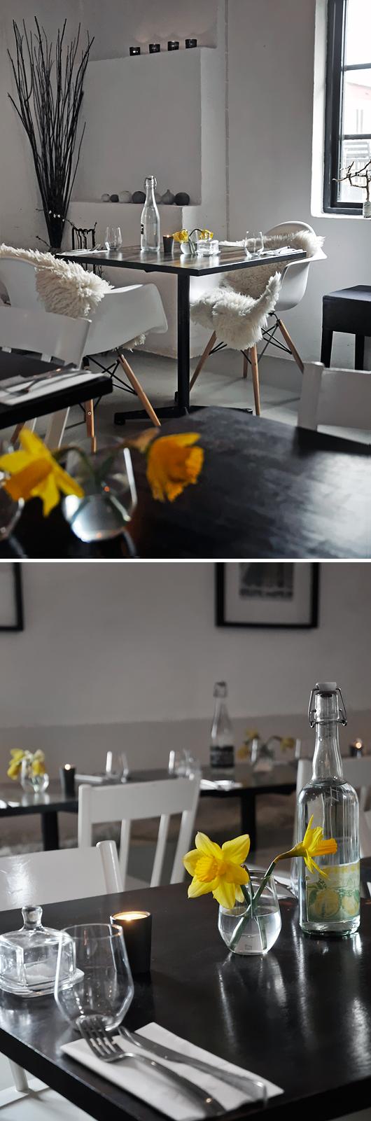 Påskpyntat bord Vindåkra gård Malmö