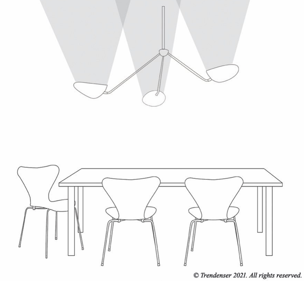 Belysning lampa ljus matbord
